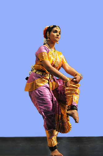 Bharatnatyam Dancer by Brendan Lally